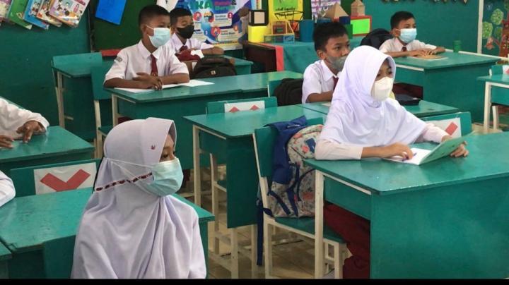 Ratusan Sekolah di Pekanbaru Mulai Belajar Tatap Muka