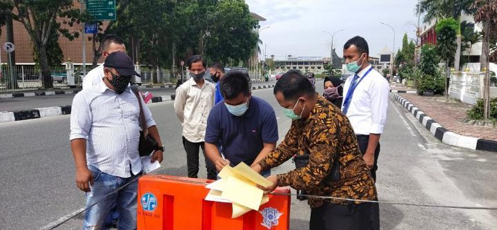 Akhirnya Keluarga Pasien Meninggal Covid-19 Perkarakan RS Ibnu Sina dan Dinkes Pekanbaru