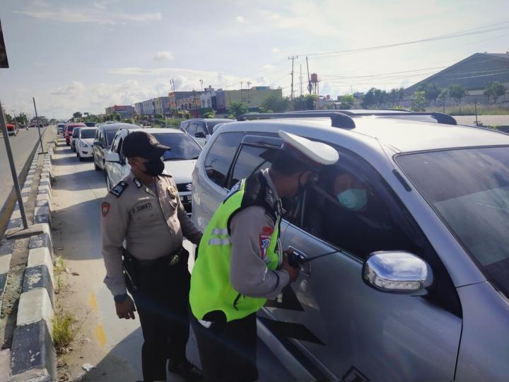 Pasca Lebaran, Polisi Perketat Pemeriksaan di Posko Penyekatan
