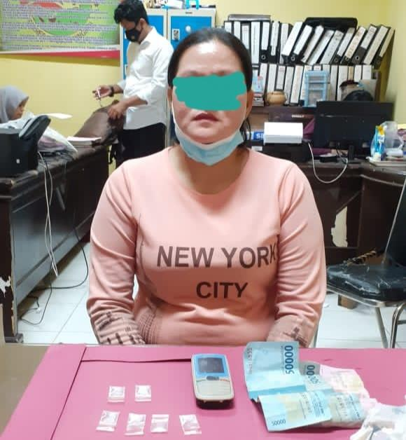 Transaksi Sabu di Pasar, IRT Ditangkap