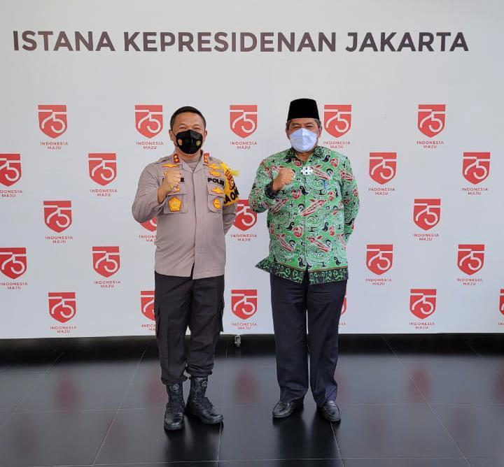 Presiden Minta Kapolda Tindak Pelaku Karhutla Tanpa Kompromi
