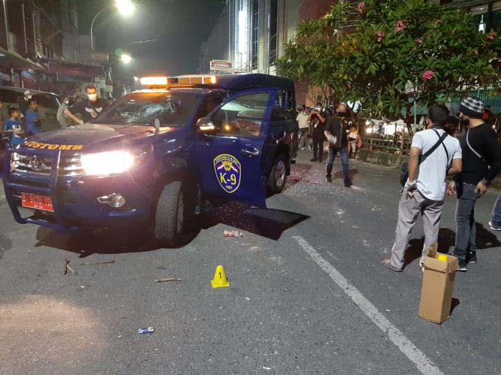 Mobil Bea Cukai Diserang Segerombolan OTK, Seorang Petugas Terluka