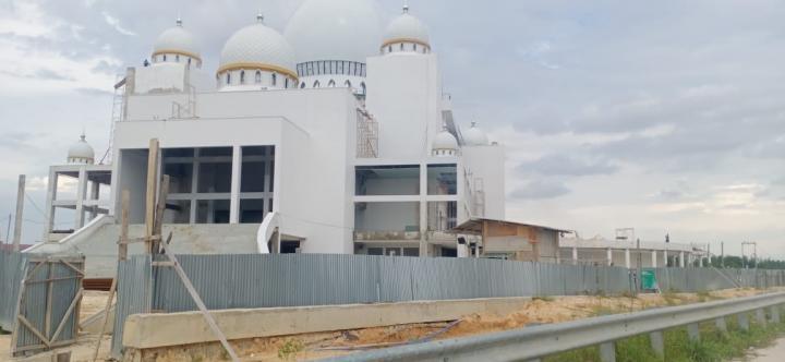 Proyek Masjid Raya Tak Rampung, PT Tri Jaya Permai Belum Bayar Denda Rp676,8 Juta