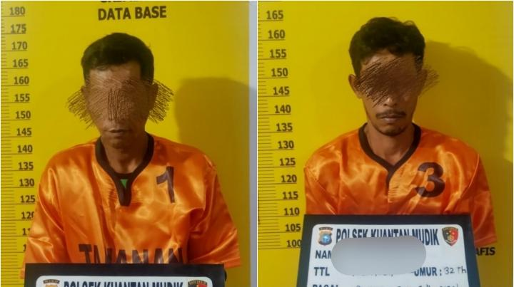 Tertangkap Tangan Saat Beraksi, 2 Pelaku PETI Diangkut Polisi