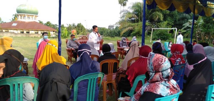 Waka DPRD Pekanbaru Keliling Sosialisasi Perda UMKM