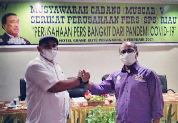 Pengurus Serikat Perusahaan Pers (SPS) Cabang Riau Periode 2021-2025 Terbentuk