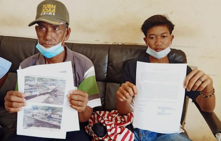 Dihantam Tugboat, 2 Nelayan Terombang-ambing 24 Jam di Selat Malaka