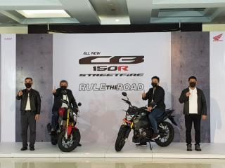 Usung Desain Big Bike, All New CB150R Streetfire Resmi Mengaspal di Riau
