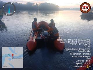 Orang Tua Sempat Saksikan Dua Anaknya Hanyut di Sungai Kampar