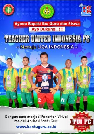 TUI FC, Klub Bola Pertama di Indonesia Miliki Platform Digital