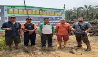 Kades Kepau Jaya Apresiasi dengan Kelompok Tani Jalan Nusantra