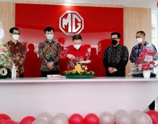 Perluas Jaringan Penjualan, MG Motor Buka Outlet Baru di Pekanbaru