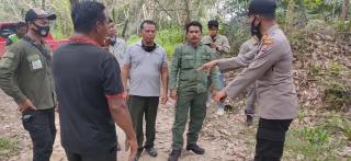 Cegah Karhutla, Jajaran Polsek Ukui dan TNTN Aktif Patroli Bersama