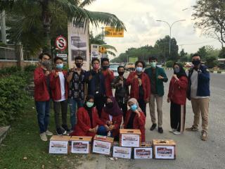 IMM Pekanbaru dan ACT Riau Galang Bantuan Bencana