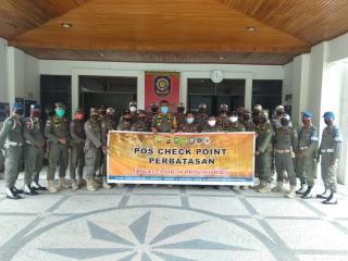 Petugas Dikerahkan Malam Ini Jaga Perbatasan Riau