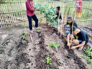 KKN Mahasiswa Muhammadiyah Riau Direspon Baik Masyarakat