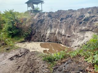 Situasi Memanas, PT Duta Palma Tutup Akses Kebun Warga