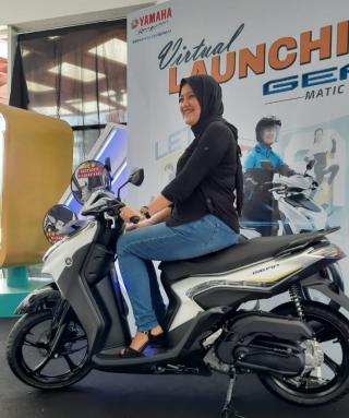 Yamaha Gear 125 Meluncur di Riau, Ini Tiga Keunggulannya