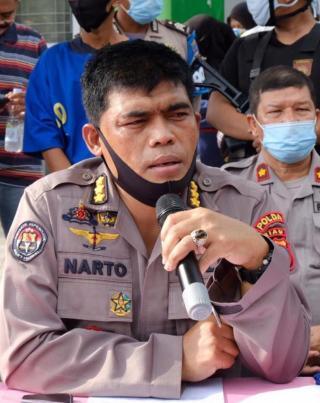Amankan PSU Inhu dan Rohul, 854 Personel TNI-Polri Diterjunkan