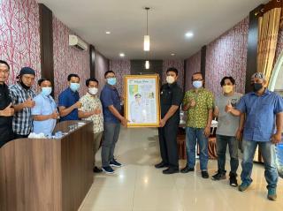 Silaturahmi Pimpinan RPG, Bupati Kuansing Beber Potensi Wisata Daerah