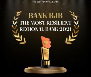 BJB Raih Penghargaan The Most Resilient Regional Bank 2021