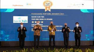 BJB Raih Tiga Penghargaan Top GRC Award 2021