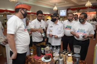 Gerakan Kampanye Diversifikasi Pangan, Gubri Tinjau UMKM Lokal