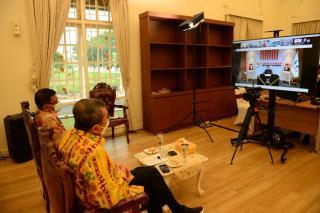 Gubri Buka Workshop Penilaian Kepatuhan Tahun 2021 Secara Virtual