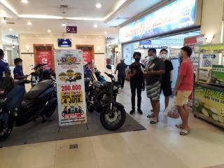 Beli Motor Yamaha Bisa Hemat Sampai Rp 4 Juta di Mal Pekanbaru