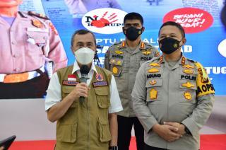 Deklarasi Menuju WBK/WBBM Polda Undang Forkopimda