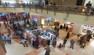 Meski Pandemi, Pusat Perbelanjaan di Pekanbaru Membludak