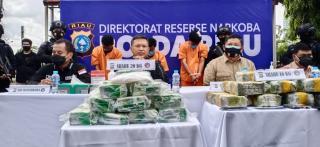 Kompol IZZ Disergap Bawa 16 Kg Sabu, Kapolda : Sejak Ditangkap Dia Bukan Polisi Lagi