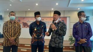 Coffee Morning Bersama Wartawan, Bupati Rohil Ingin Bersama Membangun Rohil