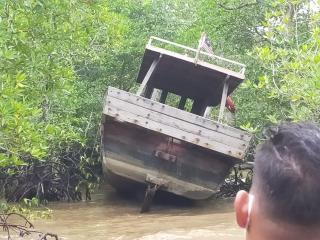 Nakhoda Kabur, Tinggalkan Kapal Berbendera Malaysia Berisi 3 Kg Sabu