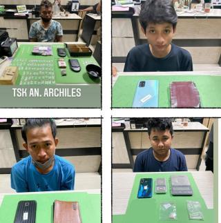 Geledah Rumah Kontrakan di Pekanbaru, Polisi Sita 94 Paket Sabu