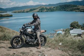 XSR 155 Touring hingga Titik Paling Timur Indonesia
