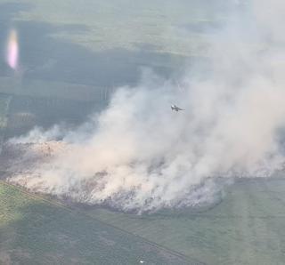 Patroli Karhutla, F16 Temukan Titik Api di Perbatasan Siak dan Bengkalis