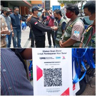 Dishub dan PT YSM Launching Pembayaran Parkir Non Tunai