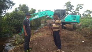 Kirim Dua Ekskavator Atasi Banjir, Forum RT STDI : Terimakasih Pak Eko