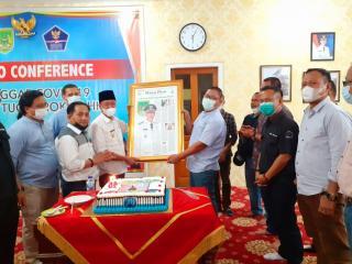 Silaturahmi Pimpinan RPG Disambut Hangat Bupati Rohil dan Plt Sekwan.