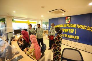 Kunker ke MPP Pekanbaru, Rombongan Pemkab Bengkulu Tengah Kagum