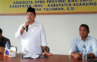Gantikan Eet, Yulisman Jabat Ketua DPRD Riau