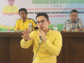 DPD RI Edwin Pratama: Kekosongan Wabup Kampar Bisa Jadi Preseden Buruk