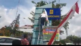 PJU Dimatikan, Pemkab Kampar Segel PLN Bangkinang