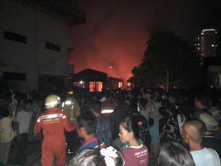 Api Bakar 5 Rumah di Permukiman Padat, Nihil Korban Jiwa