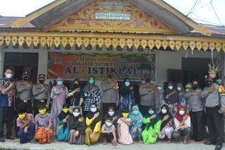Kunjungi Tiga Panti Asuhan, Kapolresta Serahkan Bantuan Sembako