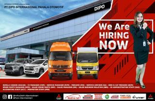 DIPO dealer Resmi kendaraan Mitsubishi Terbesar di Provinsi Riau