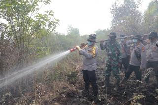 Polda Selidiki 25 Hektar Lebih Lahan Terbakar di Riau