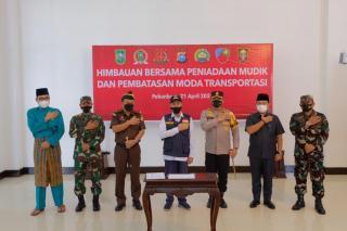 Aha! Forkopimda Riau Deklarasi Stop Mudik