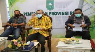 Jokowi Resmikan Tol Pekanbaru-Dumai Secara Virtual dari Jakarta
